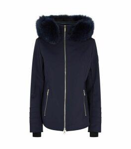Fur Trim Soft Shell Tori Jacket