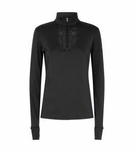 Crystal-Embellished Thermal Top