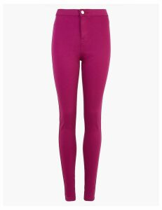 M&S Collection High Waisted Super Skinny Jeans