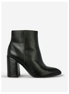 Womens Wide Fit Black 'Absolute Croc' Boots, Black