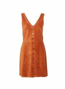 Womens **Only Ginger Pinafore Dress, Ginger