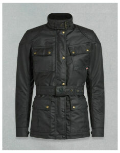 Belstaff Trialmaster Pro W Motorcycle Jacket Black UK 4 /