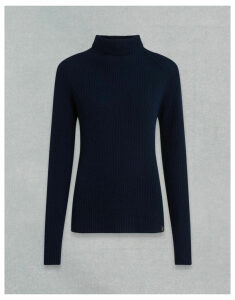Belstaff FISHERMANS RIB ROLL NECK Blue