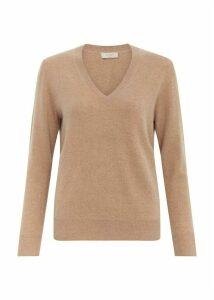Bella Cashmere Sweater Camel XL