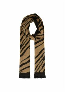 Zebra Scarf Neutral
