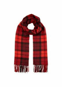 Naomi Scarf Red Multi
