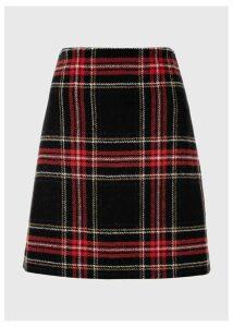 Elea Wool Skirt Black Multi