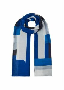 Gina Scarf Blue Multi