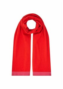 Audrey Scarf Red Pink