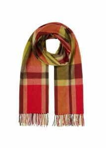 Leah Scarf Red Green