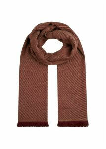 Willow Scarf Dark Berry