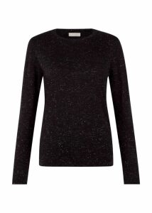 Emi Sweater Black Silver