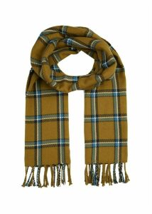 Abigal Scarf Camel Blue