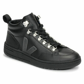 Veja  RORAIMA LEATHER  women's Shoes (High-top Trainers) in Black