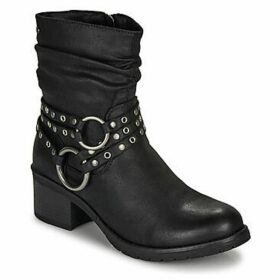 MTNG  58607-C27784  women's Low Ankle Boots in Black