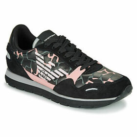 Emporio Armani  X3X058-XM053-R529  women's Shoes (Trainers) in Black