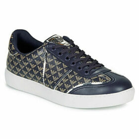 Emporio Armani  X3X083-XM056-R534  women's Shoes (Trainers) in Blue
