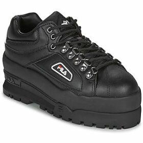 Fila  TRAILBLAZER WEDGE WMN  women's Shoes (Trainers) in Black