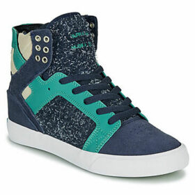 Supra  SKYTOP  women's Shoes (High-top Trainers) in Blue