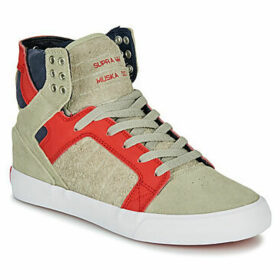 Supra  SKYTOP  women's Shoes (High-top Trainers) in Beige