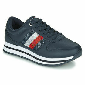 Tommy Hilfiger  TOMMY RETRO CRYSTAL SNEAKER  women's Shoes (Trainers) in Blue