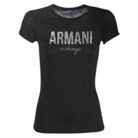 Armani Exchange  8NYT98-Y9C8Z-1200  women's T shirt in Black