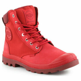 Palladium  Pampa Sport Cuff WPN 73234-614-M  women's Shoes (High-top Trainers) in Red