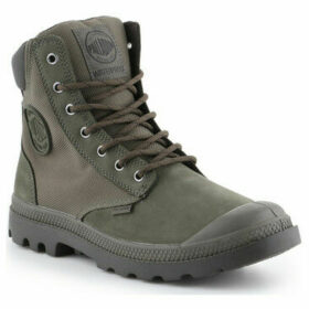 Palladium  Pampa Sport Cuff WPN 73234-309-M  women's Shoes (High-top Trainers) in Green