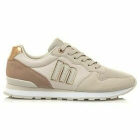MTNG  ZAPATILLAS  MUJER  women's Shoes (Trainers) in Beige