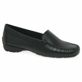 Charles Clinkard  Sun II Womens Moccasins  women's Loafers / Casual Shoes in Black