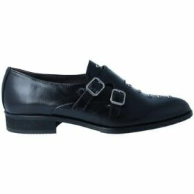 Luis Gonzalo  4984M Women's Shoes with Buckles  women's Loafers / Casual Shoes in Black