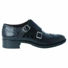 Luis Gonzalo  4217M Zapatos con Hebillas de Mujer  women's Loafers / Casual Shoes in Black