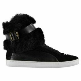 Puma X Alexander Mcqueen  Trainers  women's Shoes (High-top Trainers) in Black