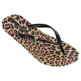 Ipanema  Animal Print  women's Flip flops / Sandals (Shoes) in Beige