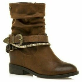 MTNG  BOTA CA?A BAJA PARA MUJER  women's Mid Boots in Brown