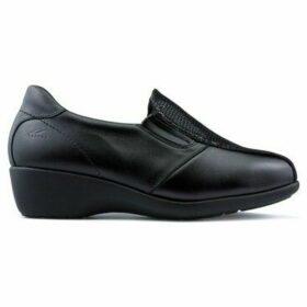 Dtorres  Loafers  TURIN SPECIAL WIDTH  women's Loafers / Casual Shoes in Black