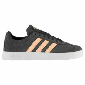 adidas  VL Court Suede Ladies Trainers  women's Shoes (Trainers) in Grey
