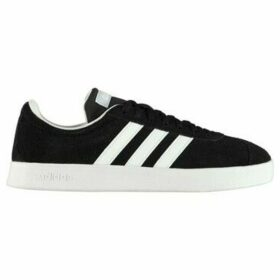 adidas  VL Court Suede Ladies Trainers  women's Shoes (Trainers) in Black