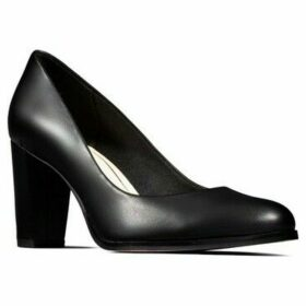 Clarks  Kaylin Cara Womens High Heeled Court Shoes  women's Court Shoes in Black
