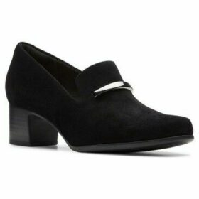 Clarks  Un Damson Lane Womens High Cut Court Shoes  women's Loafers / Casual Shoes in Black