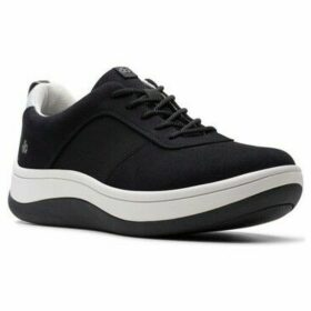 Clarks  Arla Step Womens Casual Shoes  women's Shoes (Trainers) in Black