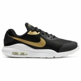 Nike  AIR MAX OKETO VTB (GS) AT6656 001  women's Shoes (Trainers) in Black