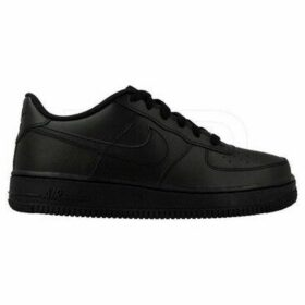 Nike  Air Force 1 (GS)  women's Shoes (Trainers) in Black