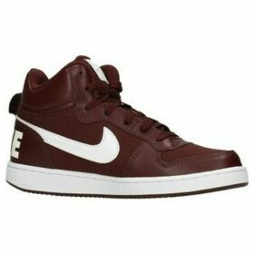 Nike  COURT BOROUGH MID - Zapatillas altas  women's Shoes (High-top Trainers) in Brown