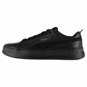 Puma  Smash Platform Ladies Trainers  women's Shoes (Trainers) in Black