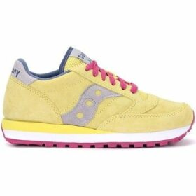 Saucony  sneaker Jazz model made of yellow suede  women's Shoes (Trainers) in Yellow