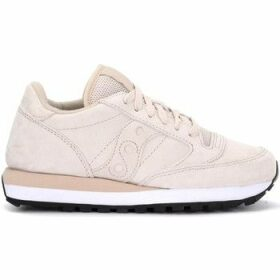 Saucony  sneaker Jazz model in chalk-colored suede  women's Shoes (Trainers) in White