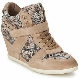 Ash  BISOU  women's Shoes (High-top Trainers) in Brown