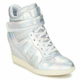 Ash  BECK  women's Shoes (High-top Trainers) in Silver