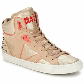 Ash  SPIRIT  women's Shoes (High-top Trainers) in Beige